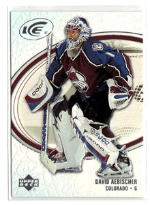 2005-06 Ice #25 David Aebischer MINT Hockey NHL Avalanche