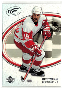 2005-06 Ice #31 Steve Yzerman MINT Hockey NHL Red Wings