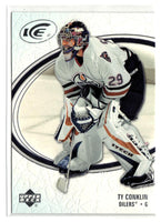 2005-06 Ice #37 Ty Conklin MINT Hockey NHL Oilers