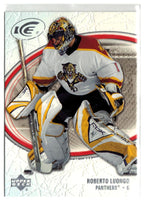 2005-06 Ice #40 Roberto Luongo MINT Hockey NHL Panthers