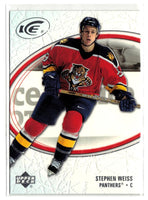 2005-06 Ice #43 Stephen Weiss MINT Hockey NHL Panthers