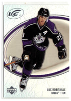 2005-06 Ice #45 Luc Robitaille MINT Hockey NHL Kings