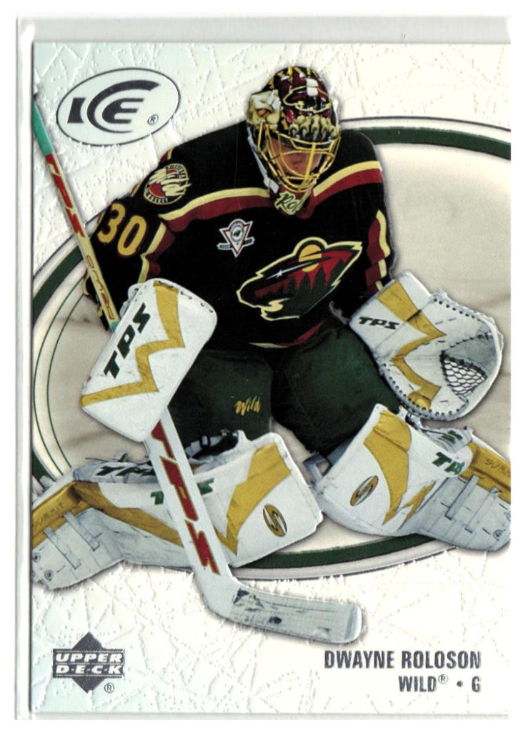 2005-06 Ice #48 Dwayne Roloson MINT Hockey NHL Wild