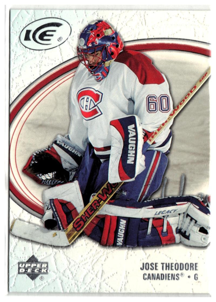 2005-06 Ice #49 Jose Theodore MINT Hockey NHL Canadiens
