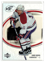 2005-06 Ice #50 Saku Koivu MINT Hockey NHL Canadiens