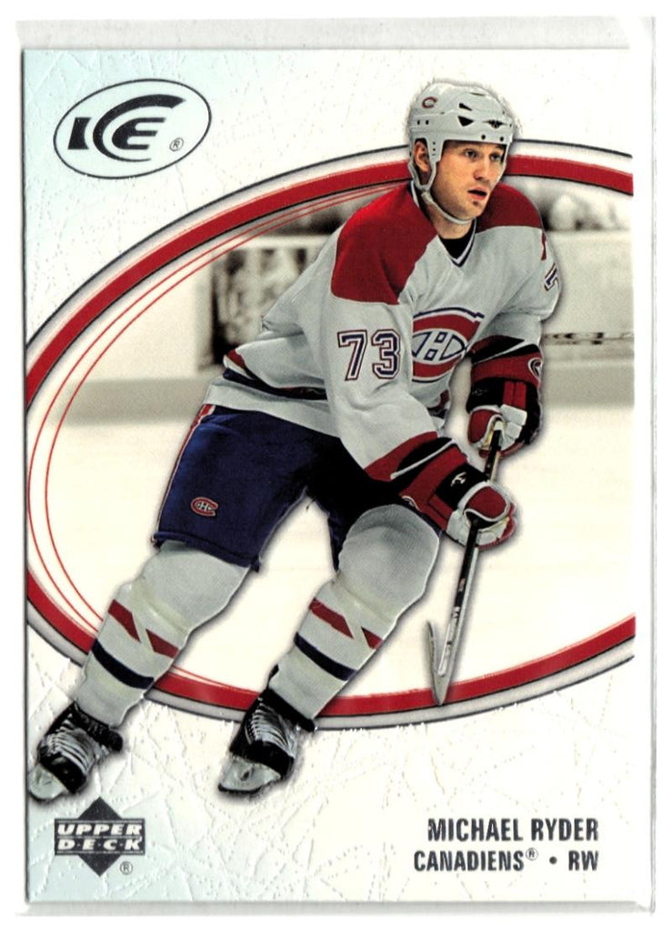 2005-06 Ice #51 Michael Ryder MINT Hockey NHL Canadiens