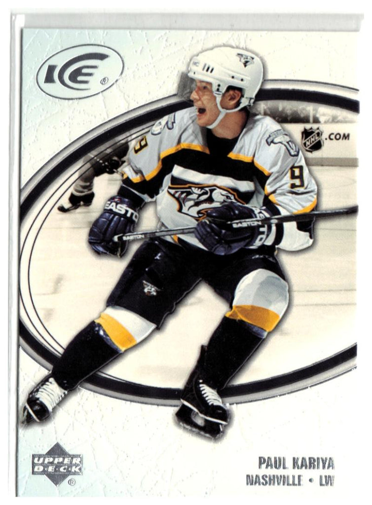 2005-06 Ice #54 Paul Kariya MINT Hockey NHL Predators