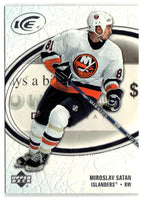 2005-06 Ice #60 Miroslav Satan MINT Hockey NHL NY Islanders