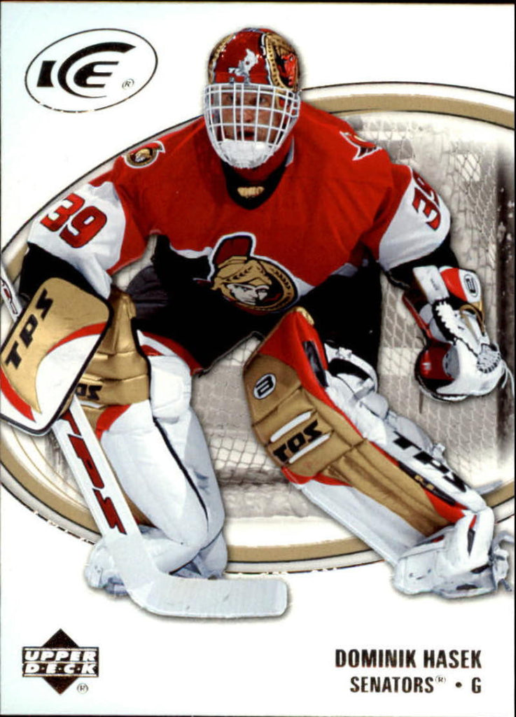 2005-06 Ice #66 Dominik Hasek MINT Hockey NHL Senators