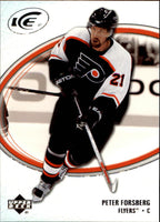 2005-06 Ice #71 Peter Forsberg MINT Hockey NHL Flyers