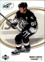 2005-06 Ice #76 Mario Lemieux MINT Hockey NHL Penguins