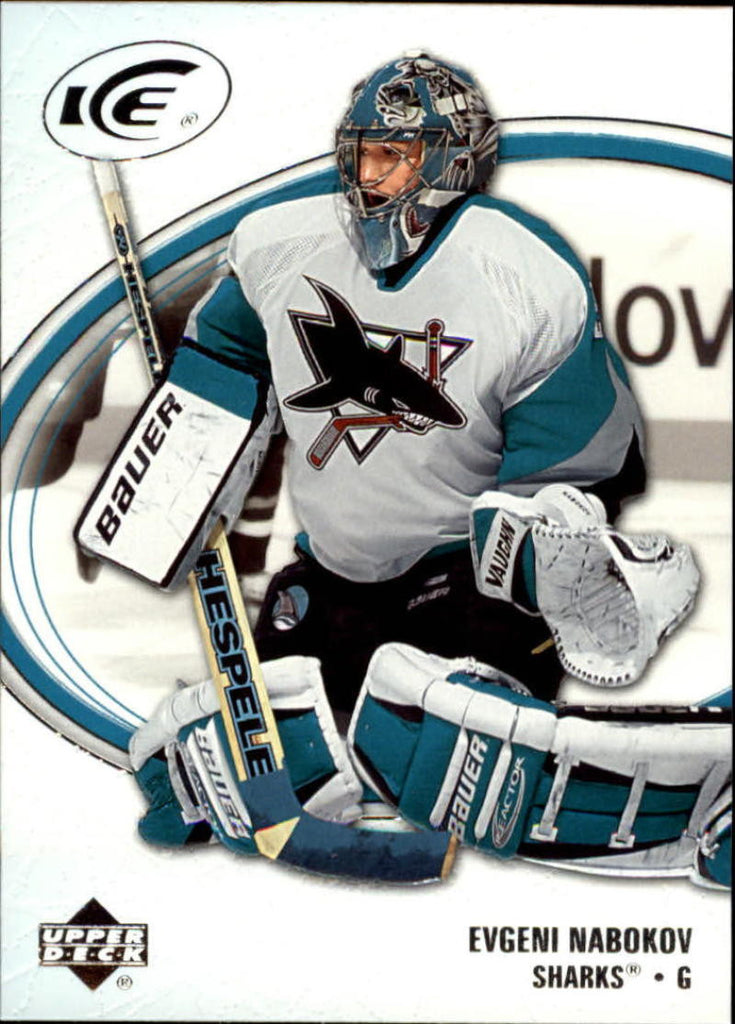 2005-06 Ice #82 Evgeni Nabokov MINT Hockey NHL Sharks