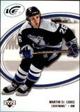 2005-06 Ice #86 Martin St. Louis MINT Hockey NHL Lightning