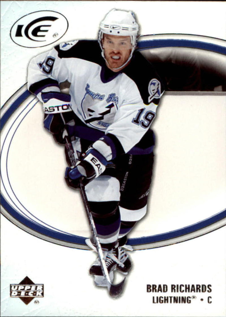 2005-06 Ice #87 Brad Richards MINT Hockey NHL Lightning