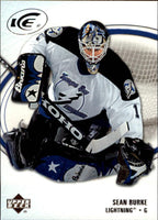 2005-06 Ice #88 Sean Burke MINT Hockey NHL Lightning