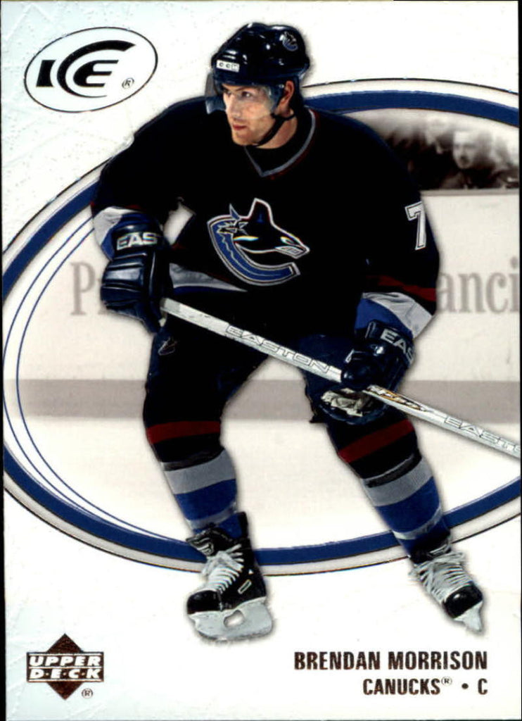 2005-06 Ice #97 Brendan Morrison MINT Hockey NHL Canucks