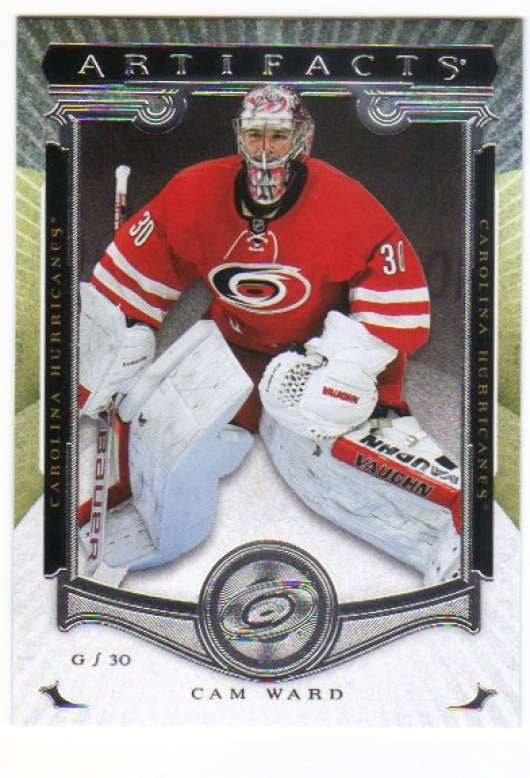 2015-16 Upper Deck Artifacts #8 Cam Ward MINT Hurricanes