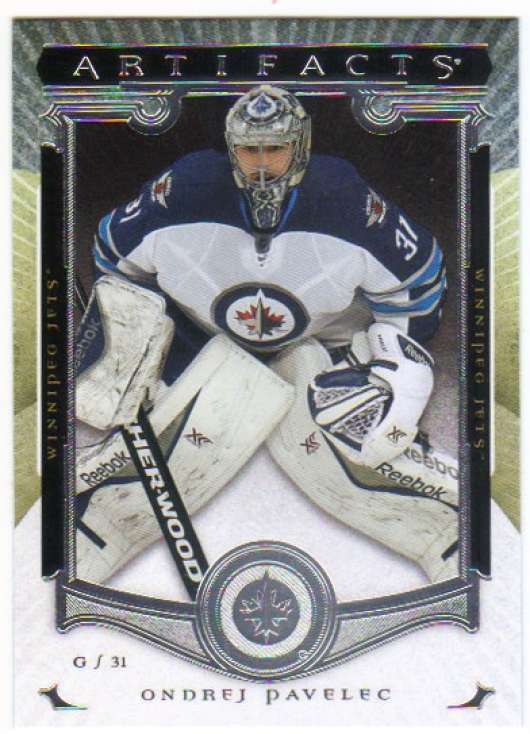 2015-16 Upper Deck Artifacts #14 Ondrej Pavelec MINT Winn Jets