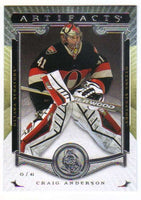 2015-16 Upper Deck Artifacts #26 Craig Anderson MINT Senators