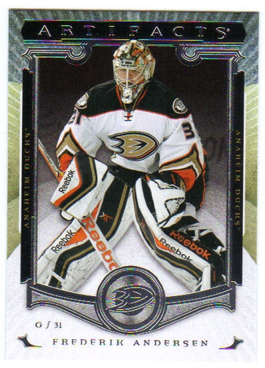 2015-16 Upper Deck Artifacts #30 Frederik Andersen MINT Ducks