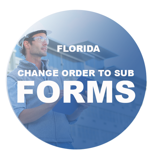 CHANGE ORDER TO SUB FORMS