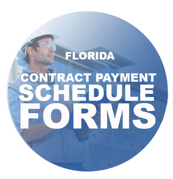 CONTRACT PAYMENT SCHEDULE FORMS