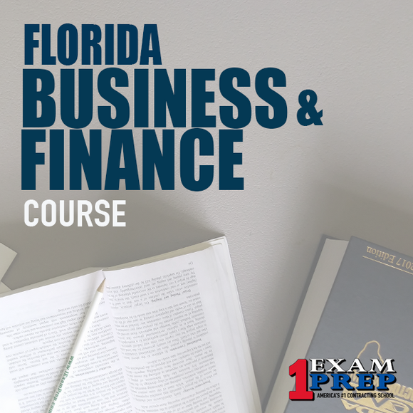 Florida Business & Finance Computer Based Examination (CBT) - Online Exam Prep Course - Pearson Vue
