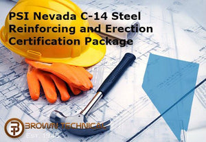 PSI Nevada C-14 Steel Reinforcing and Erection Certification Package