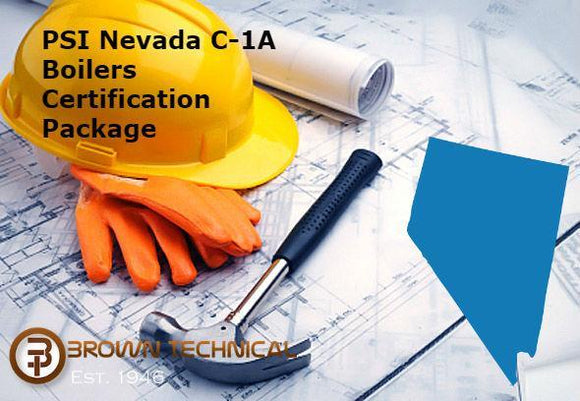 PSI Nevada C-1A Boilers Certification Package