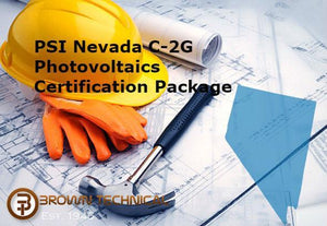PSI Nevada C-2G Photovoltaics Certification Package