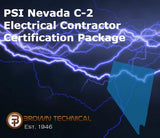 PSI Nevada C-2 Electrical Contractor Certification Package