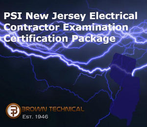 PSI New Jersey Electrical Contractor Examination Certification Package