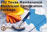 PSI Texas Maintenance Electrician Certification Package
