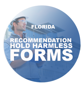 HOLD HARMLESS FROM RECOMMENDATIONS FORMS