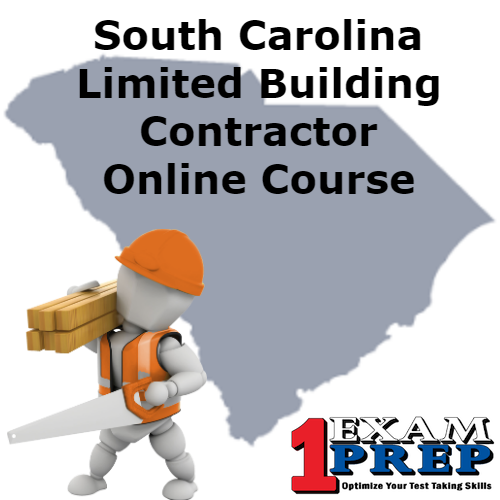 South Carolina Limited Building Contractor Course