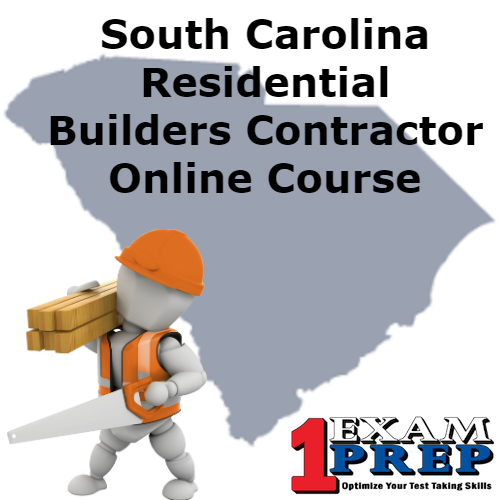 South Carolina Residential Builder Contractor Course