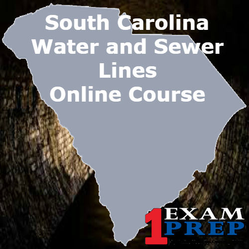 South Carolina Water and Sewer Line Exam Prep