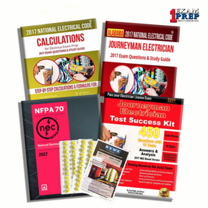 ALABAMA 2020 MASTER ELECTRICIAN EXAM PREP PACKAGE