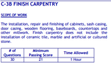 PSI Nevada C-3B Finish Carpentry Book Package