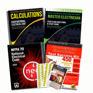 California 2020 Complete Master Electrician Book Package