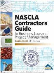 Connecticut NASCLA Contractors Guide to Business, Law and Project Management, CT 5th Edition