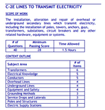PSI Nevada C-2E Lines to Transmit Electricity Certification Package