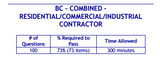 PSI Tennessee BC-Combined-Residential/Commercial/Industrial Contractor Book Package
