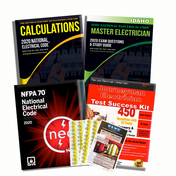 Idaho 2020 Complete Master Electrician Book Package
