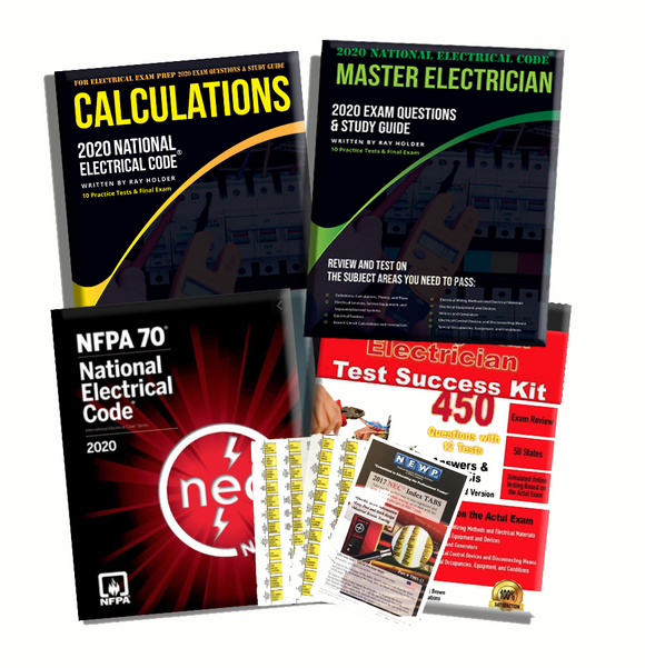 2020 Complete Master Electrician Book Package
