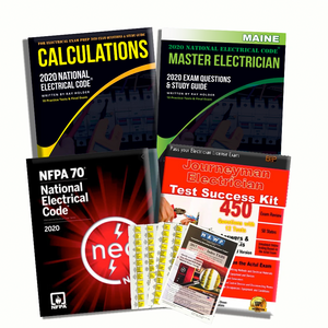 Maine 2020 Complete Master Electrician Book Package