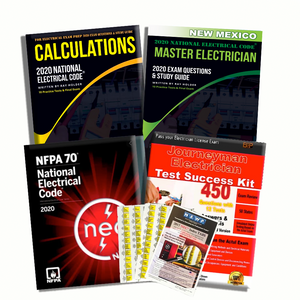 New Mexico 2020 Complete Master Electrician Book Package