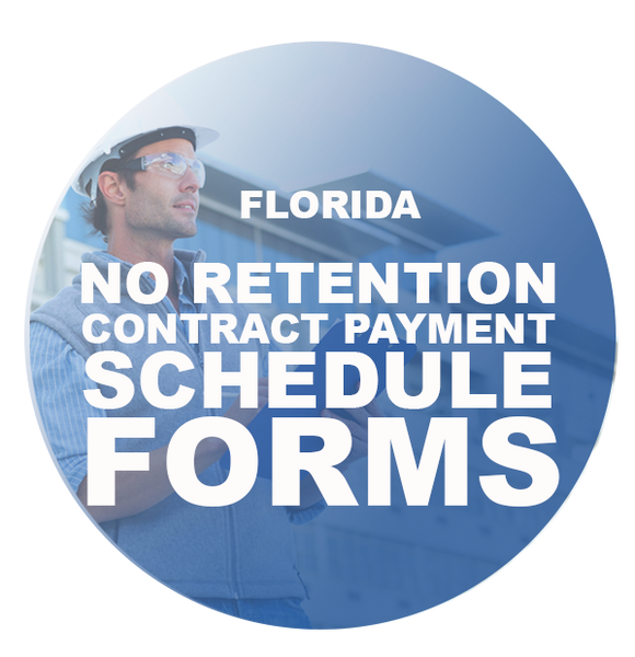 NO_RETENTION CONTRACT PAYMENT SCHEDULE FORMS