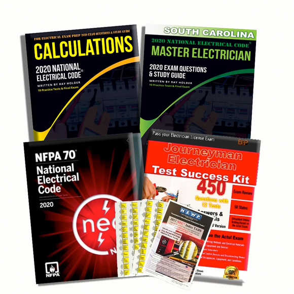South Carolina 2020 Complete Master Electrician Book Package