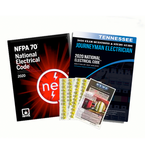 Tennessee 2020 Journeyman Electrician Exam Prep Package